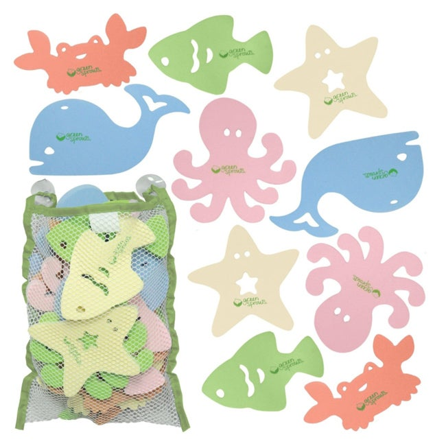 iPlay Sea Friends Bath Toys (Pack of 15)