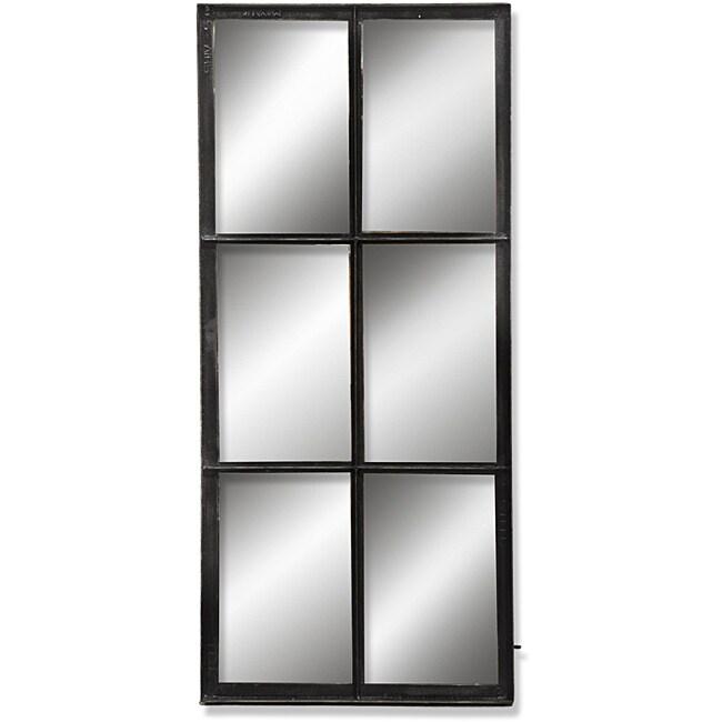 Kosas Home D-Industrial 6 Panel Antique Mirror