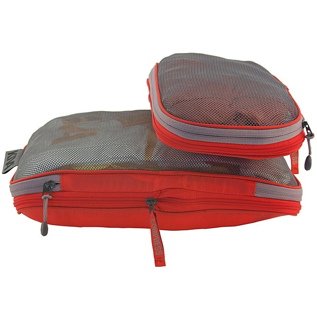 KIVA Packing Genius™ Large Persimmon Compress-it Cube™
