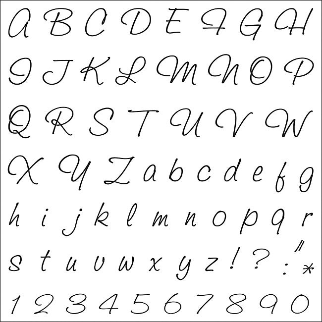 Fiskars Clear Stamps-Alphabet-Classic