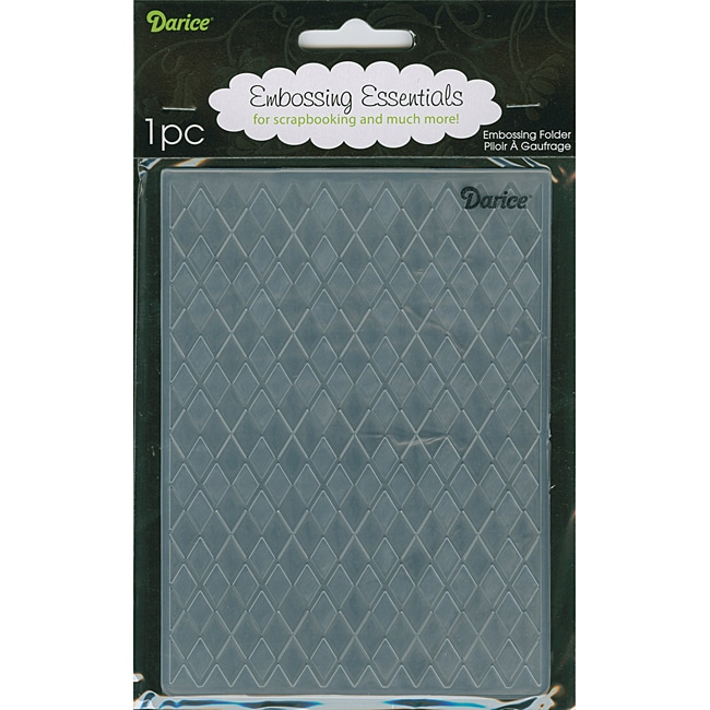 Argyle Background Embossing Folder