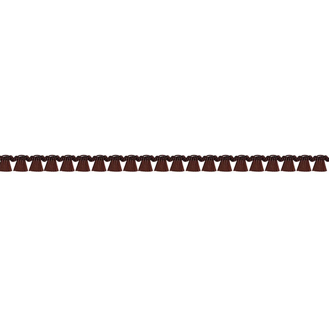 Ornamental Edgings Brown Tassel Trim (18 Yards)