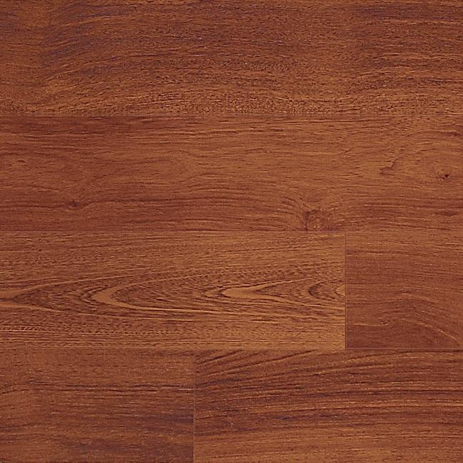 Shop Easy Install 12mm Single Strip Royal Mahogany Laminate Flooring