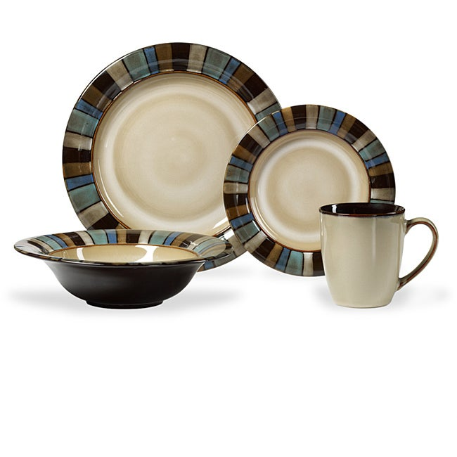 Shop Pfaltzgraff Everyday Salerno 16-piece Dinnerware Set - Free ...
