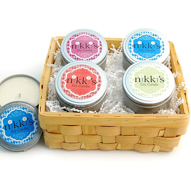 Scentsational Soy Candles Gift Basket