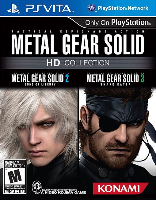 PS Vita - Metal Gear Solid HD