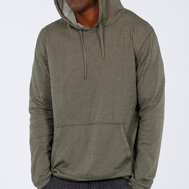 191 Unlimited Men's Green Pullover Hoodie