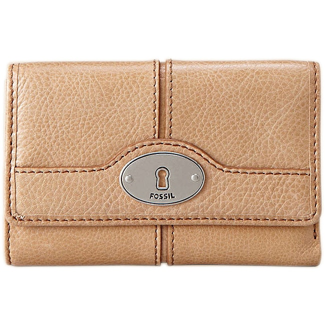 Fossil Women's 'Maddox' Camel Leather Wallet