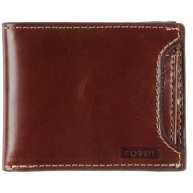 Fossil Men's 'Aidan' 2-in-1 Leather Wallet
