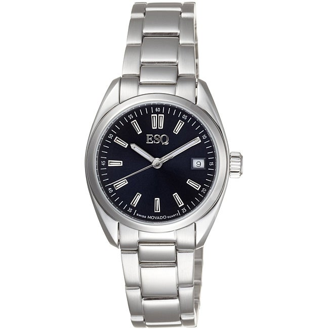 ESQ by Movado Women's Sport Classic Stainless Steel Blue Watch