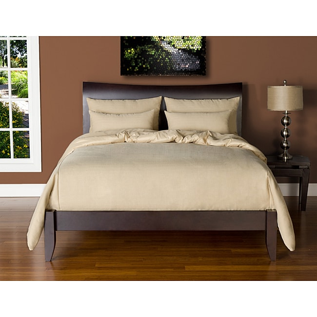 Belfast Bisque 6-piece Cal King-size Duvet Cover and Insert Set