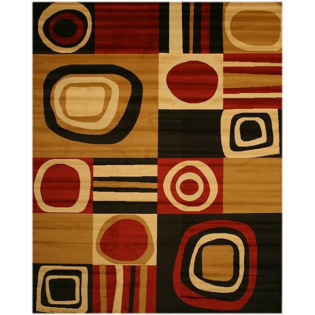 Cubismo Black Rug (8'2 x 9'10)