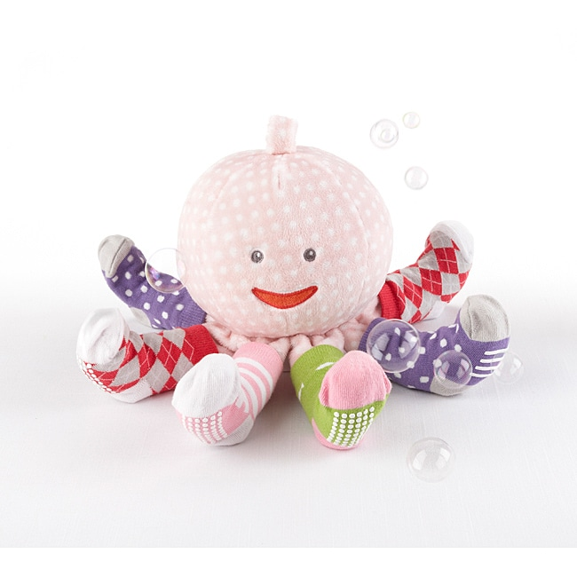Baby Aspen Mrs. Sock T. Pus Plush and Sock Gift Set