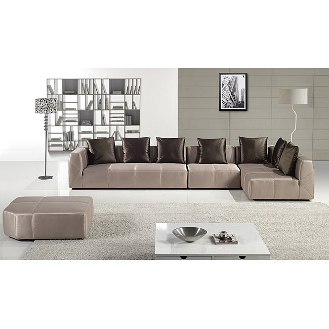 Furniture Of America Saragossa 4 Piece Sectional Chaise