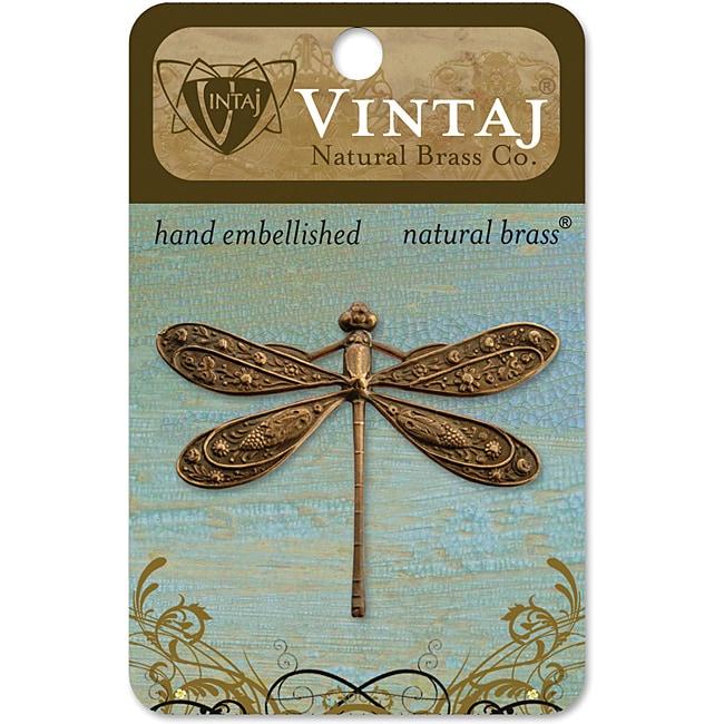 Vintaj Metal 'Ornate Dragonfly' Accent