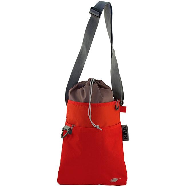Kiva Packing Genius Persimmon Crossbody Messenger Bag