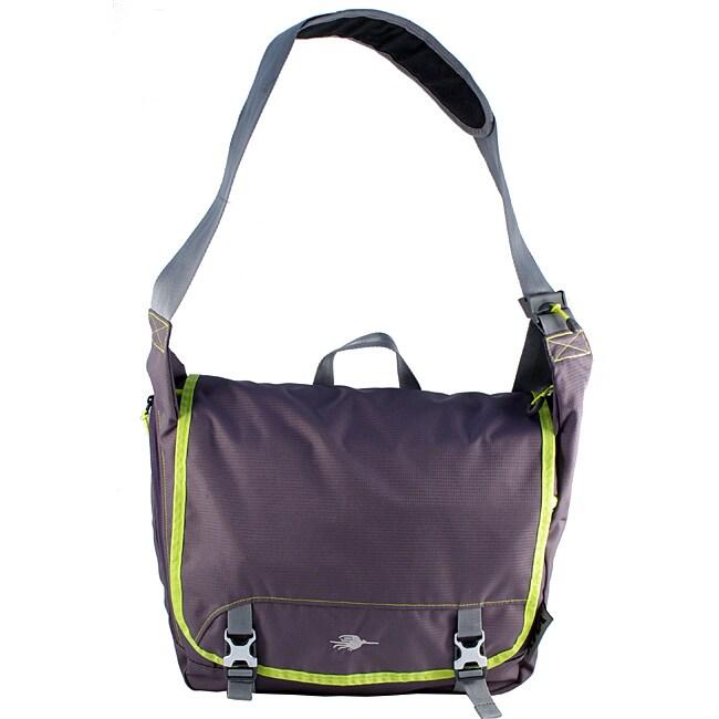 Kiva Packing Genius Wasabi Day Tripper Messenger Bag