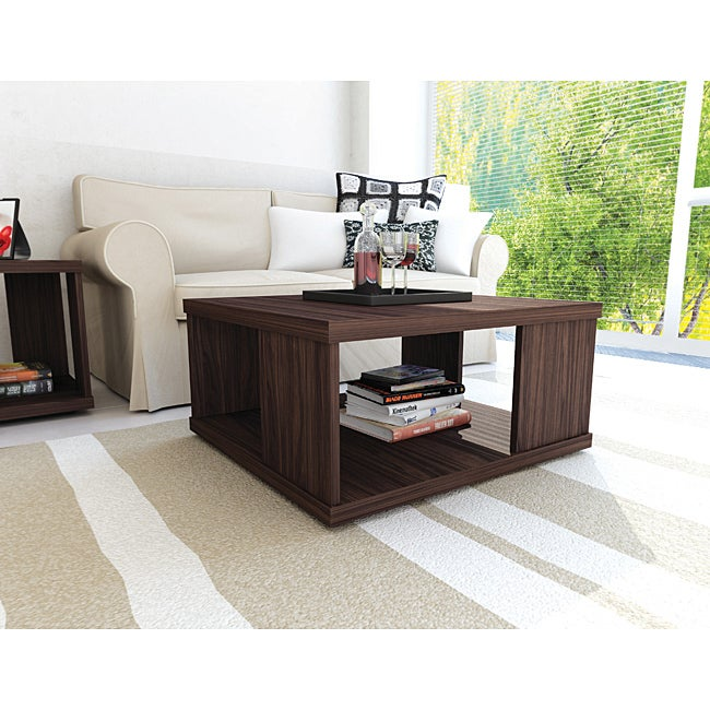 Sonax Ebony Pecan Coffee Table