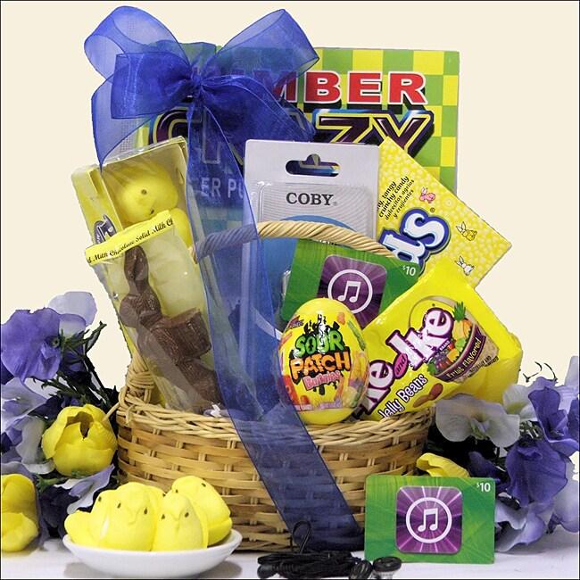 'Cool Dude' Easter Gift Basket Tween Boys