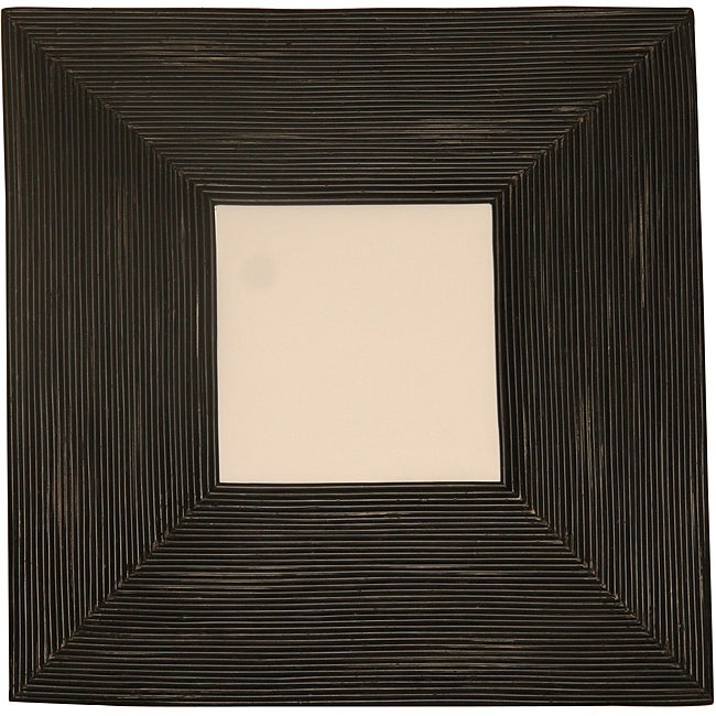 Billabong Rustic Black Square Mirror