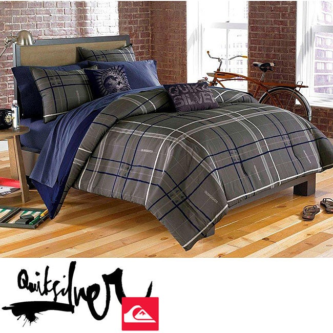 Quiksilver Skyward 9-piece Full-size Bed in a Bag with Sheet Set