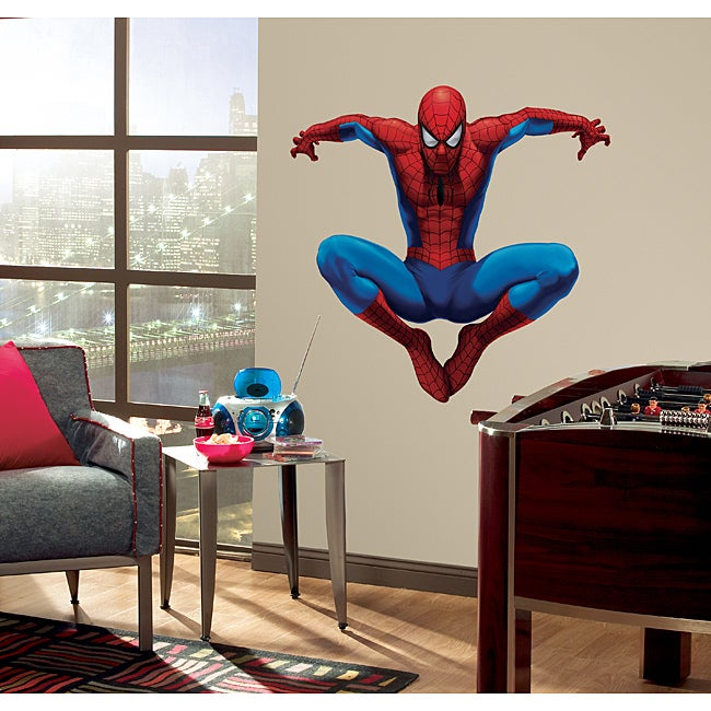 RoomMates Amazing Spider-Man Peel and Stick Giant Wall Decal