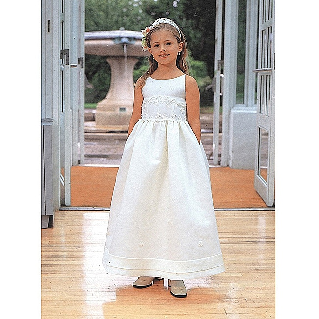 Sweetie Pie Girl's Ivory Special Occasion Dress