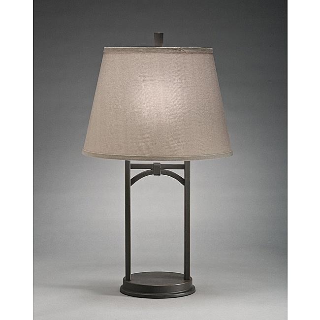 Aztec Lighting Transitional 1-light Table Lamp in Olde Bronze