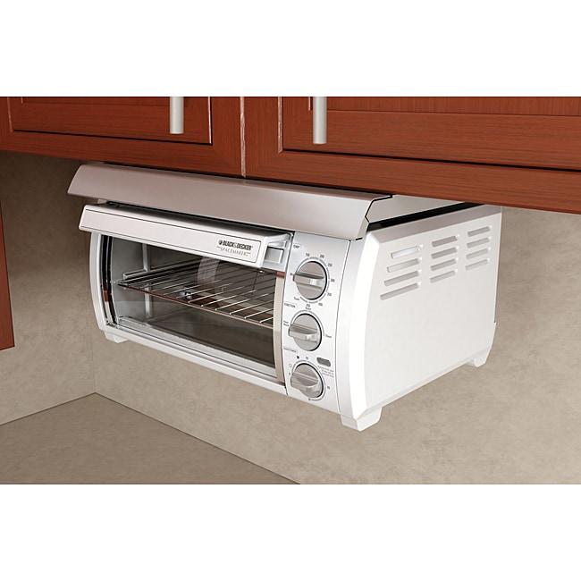 4 Slice Toaster Black Black & Decker SpaceMaker Traditional Toaster Oven ...