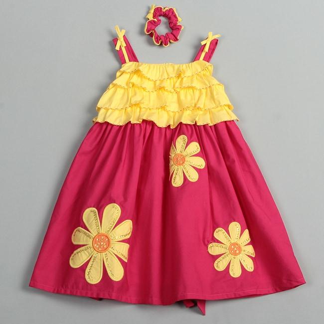 Donita Girls Flower Dress