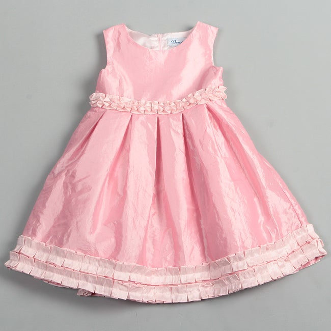 Donita Girl's Ruffle Hemmed Dress
