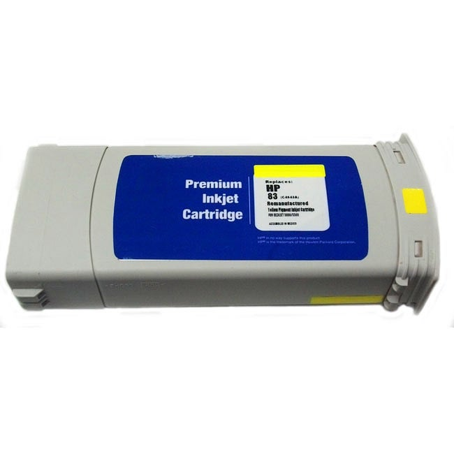 HP 83 Yellow Ink Cartridge (Remanufactured)
