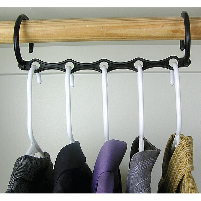 As Seen on TV Plastic Space-saving Magic Hangers (Set of 10)