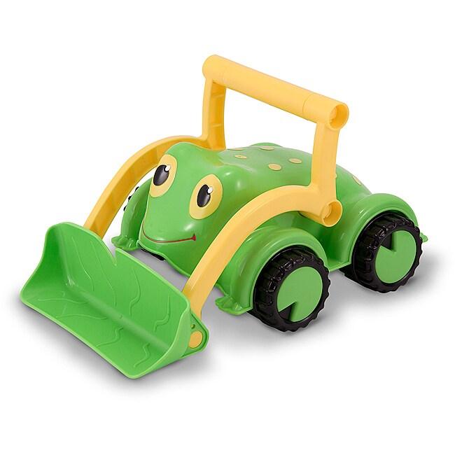 Melissa & Doug Froggy Bulldozer Truck