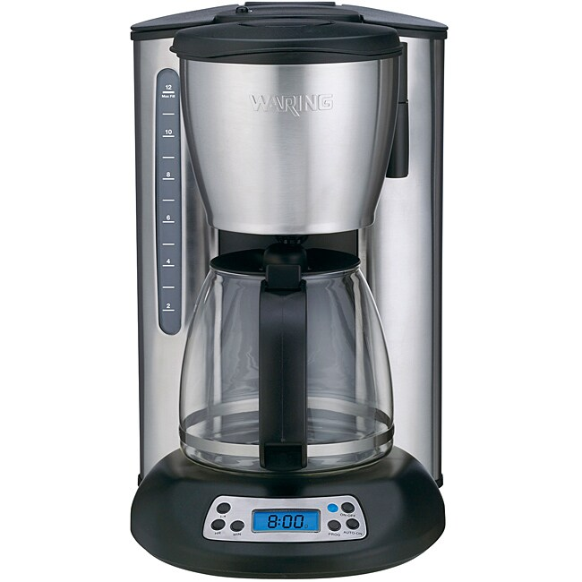 Cuisinart Grind And Brew Coffee Maker Keeps Beeping : Waring Pro CMS120 Professional 12 Cup Programmable Coffeemaker - Free Shipping Today - Overstock ...