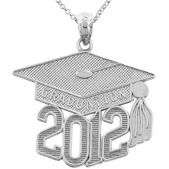 Sterling Silver 2012 Graduation Necklace