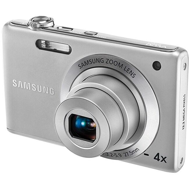 Samsung ST60 12.2MP Silver Digital Camera