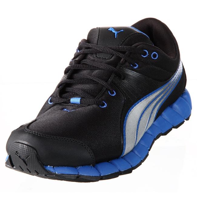 Puma Men's Black/ Silver Metallic Athletic Shoes