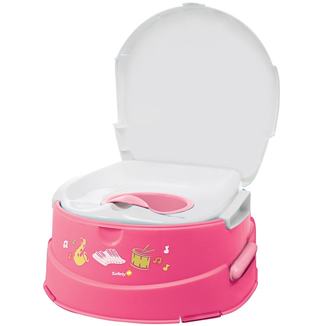 Safety 1st Pink Musical Talking Potty