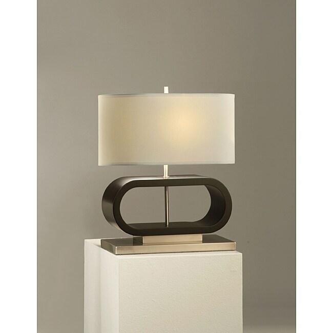 Nova Felix Dark Brown Table Lamp
