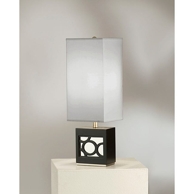 Nova Carlo Dark Brown Table Lamp