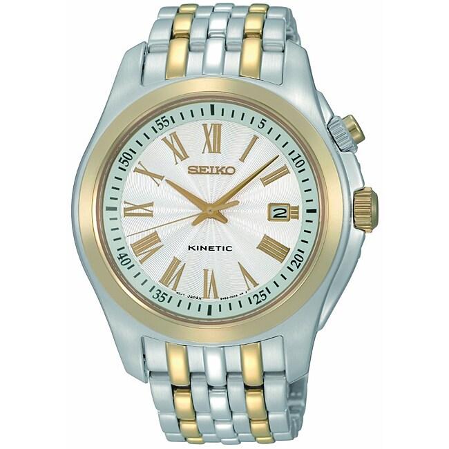 Seiko Men's Two-tone Stainless Steel Watch