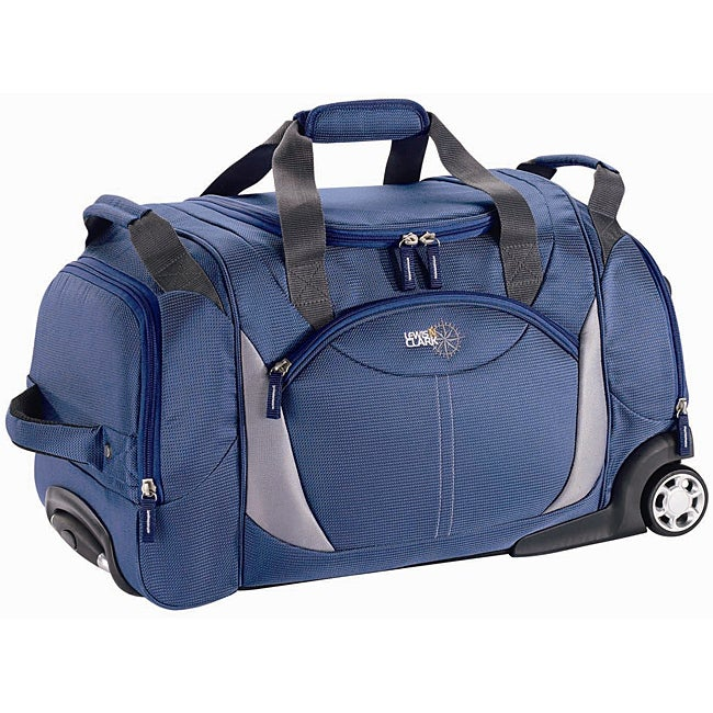 Lewis N. Clark 22-inch Carry On Rolling Upright  Duffel Bag