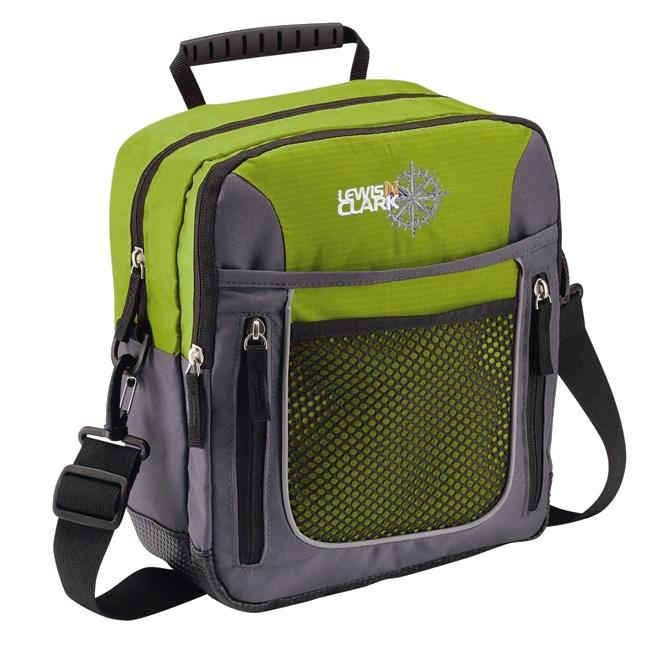 Lewis N. Clark Green Convertible Shoulder Bag to Backpack