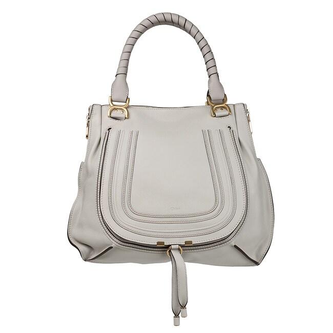 Chloe 'Easy' Dove Leather Tote Bag