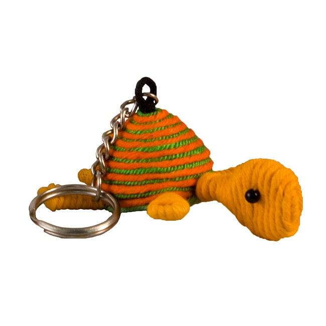Yarn Turtle Keychain (Colombia)