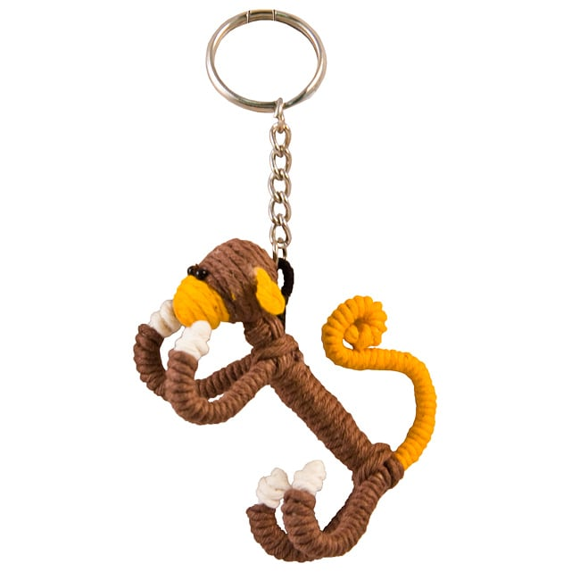 Yarn Monkey Keychain (Colombia)