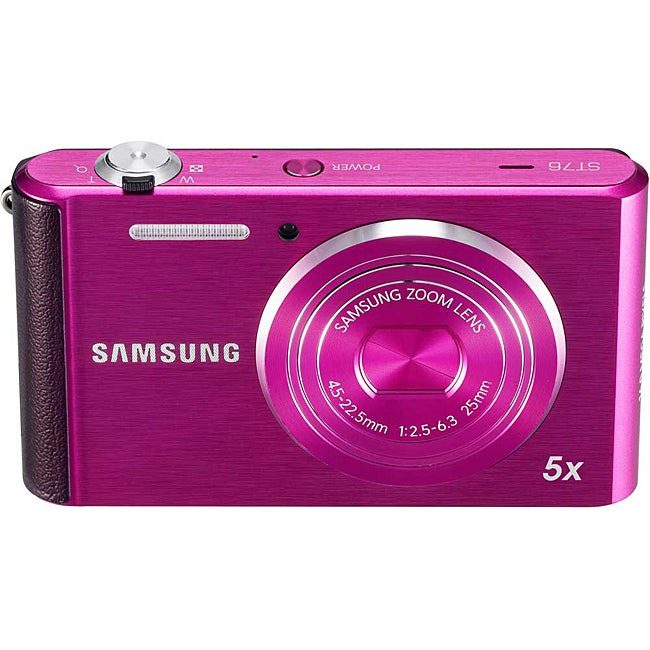 Samsung ST76 16MP Purple Digital Camera