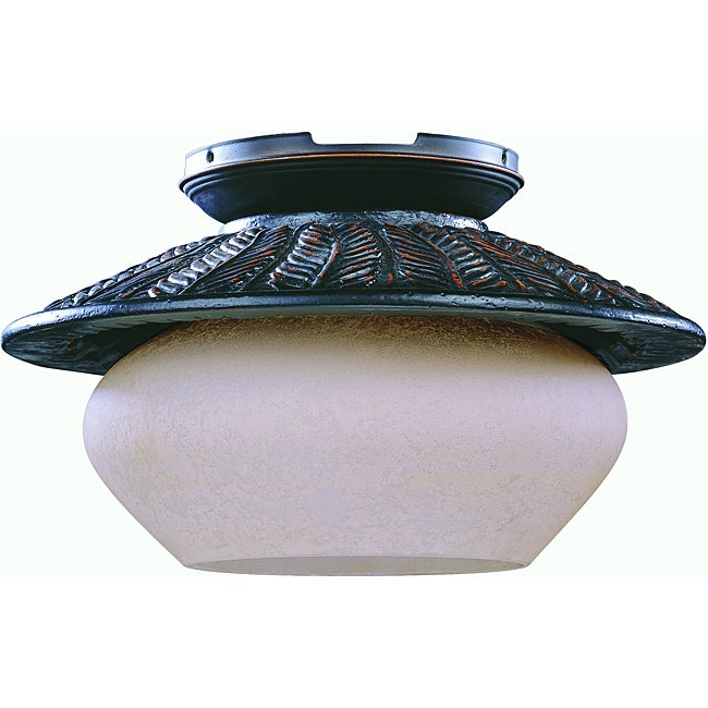 Oil Rubbed Bronze One-light Fixture Light Kit