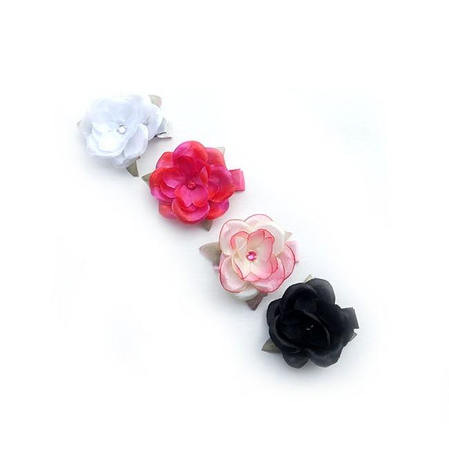 Boutique Flower Clips (Set of 4)